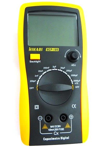 Capacimetro Digital HCP100 Hikari 21N075U