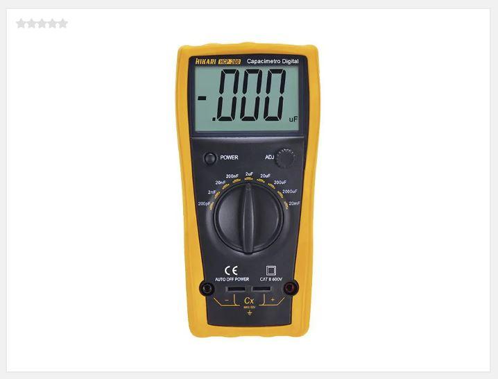 Capacimetro Digital HCP200 Hikari  21N256
