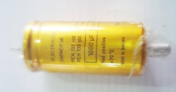 Capacitor Eletrolitico Radial 1000uFX40VRP