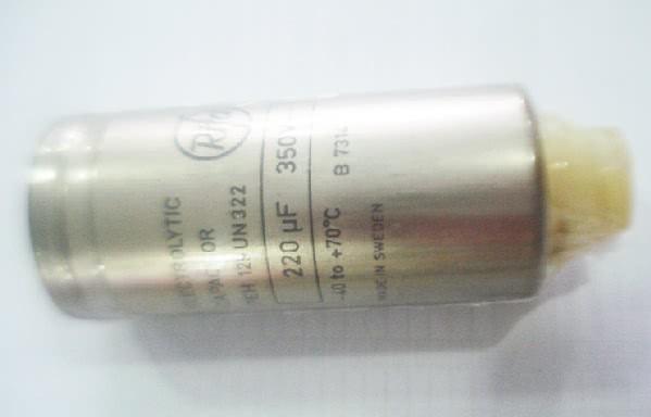 Capacitor Eletrolitico Radial 220uFX350VRP