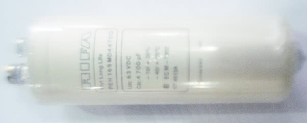 Capacitor Eletrolitico Radial 4700uFX63VRP