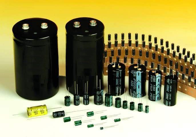Capacitor Eletrolitico Radial 470uFX16VR