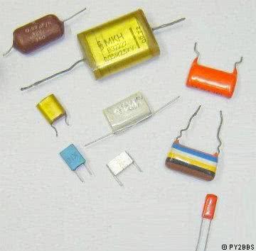 Capacitor Poliester 33KpFX100V