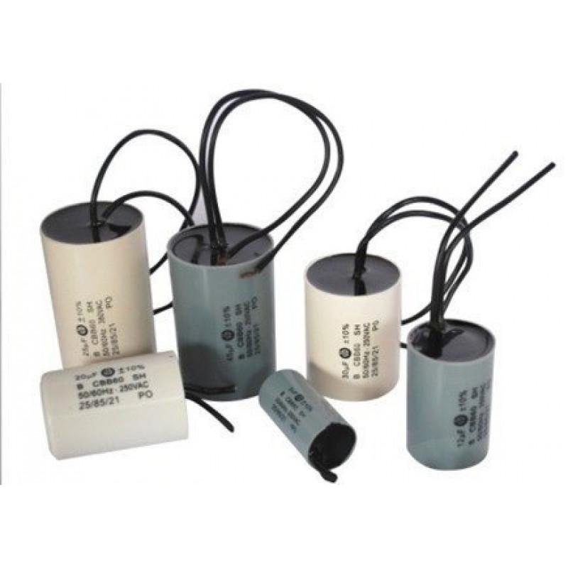 Capacitor Polipropileno Metalizado 10uFX400V/440V