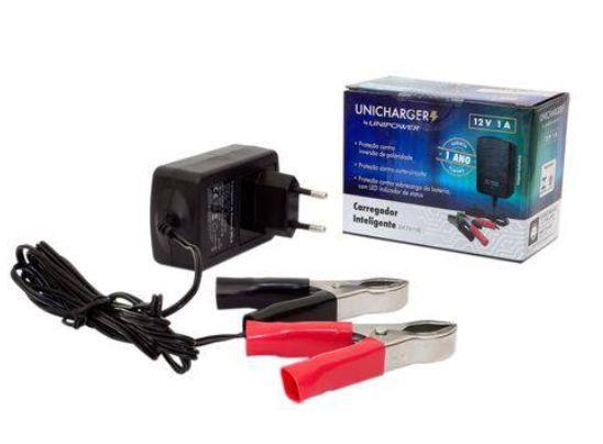 Carregador Bateria 12V X 1A Unipower Unicharger 45.02.053