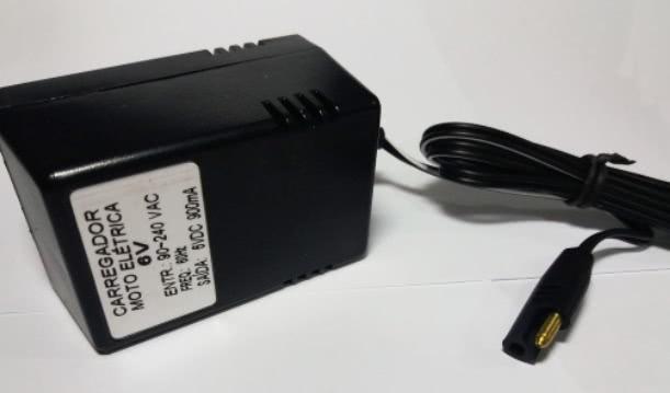 Carregador Bateria 6V X 900mA Lune 45.02.045