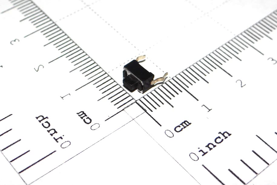 Chave Toque 3x6x4,3mm 2 Terminais A1 57.01.026