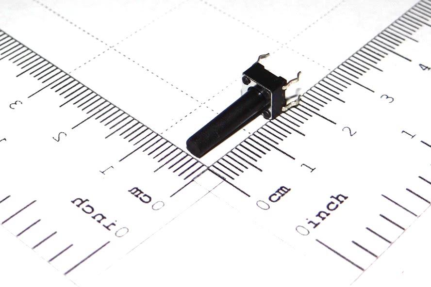 Chave Toque 6x6x17mm 4 Terminais A4 57.01.024