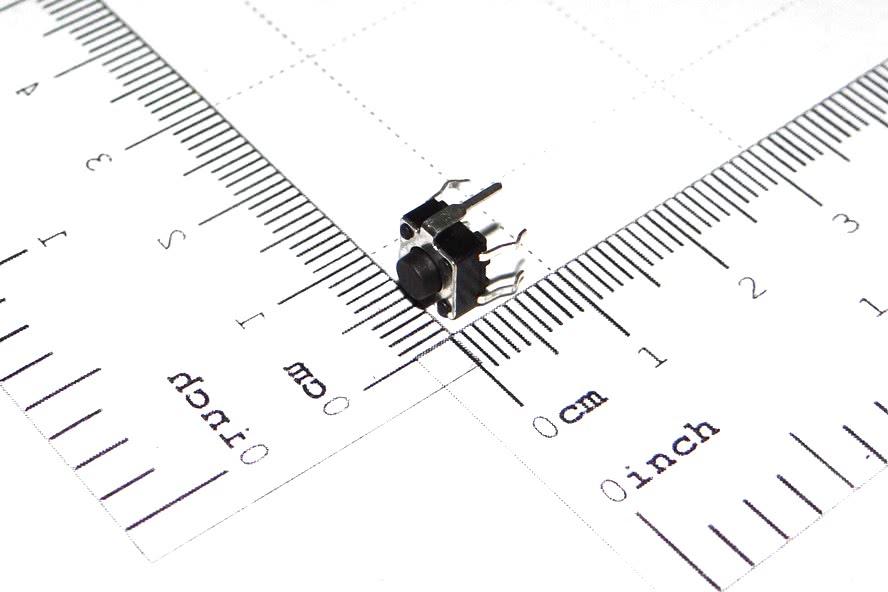Chave Toque 6x6x 5mm 5 Terminais A5 57.01.030