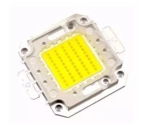 Chip Led 50w Para Reposição Refletor 50w 30-34v 1500mA Branco Frio (6000k)  23.120