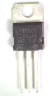 Circuito Integrado 7805 Regulador +5V X 1A LM340t5  REGULA 1