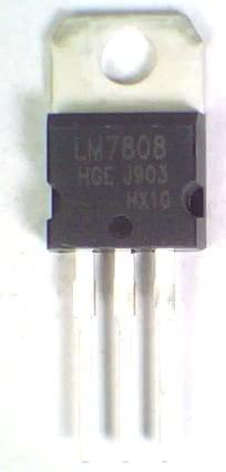 Circuito Integrado 7808 Regulador +8V X 1A LM  REGULA 2