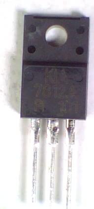 Circuito Integrado 7812 Isolado Regulador +12V X 1A AN7812 KIA REGULA3