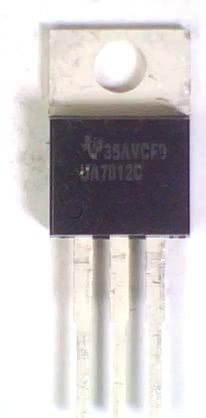 Circuito Integrado 7812 Regulador +12V X 1A AN7812 KIA7812  REGULA 3