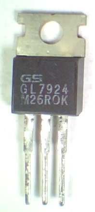 Circuito Integrado 7924 Regulador  - 24V X 1A MC7924ct  REGULA 7