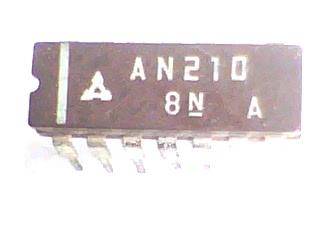 Circuito Integrado AN210  CI 5