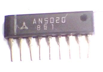 Circuito Integrado AN5020 CI 6