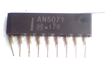 Circuito Integrado AN5071 CI 6