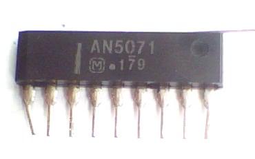 Circuito Integrado AN5071 CI 7