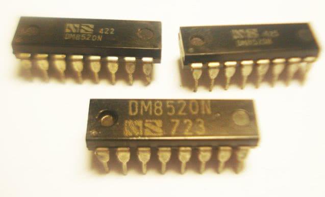 Circuito Integrado DM8520N CI 28