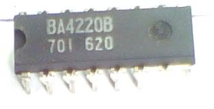 Circuito Integrado HA12413 KA2243 BA4220 CI 18
