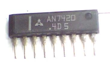 Circuito Integrado KA2263 TA7343 KIA6043s AN7420 CI 13