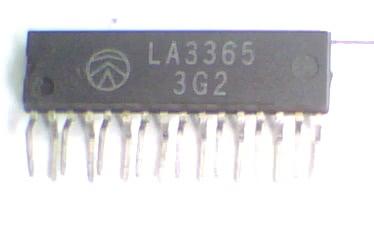 Circuito Integrado LA3365 Demodulador FM CI 48
