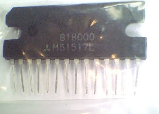 Circuito Integrado M51517 Amplificador Audio CI 71