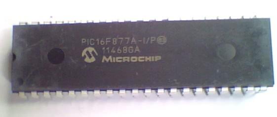 Circuito Integrado PIC16F877 PIC16F877A-I/P Microcontrolador  CI 80