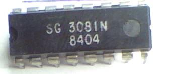 Circuito Integrado SG3081 CA3081 7 Transistores Array Npn CI 24