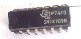 Circuito Integrado SN72709 Amplificador Operacional  CI 86