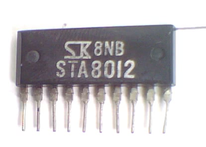 Circuito Integrado STA8012  CI 86