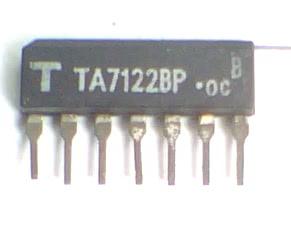 Circuito Integrado TA7122 Pre-Amplificador Audio Dual  CI 101