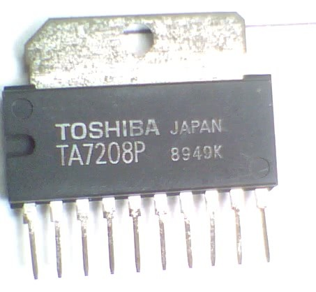 Circuito Integrado TA7208  CI 104