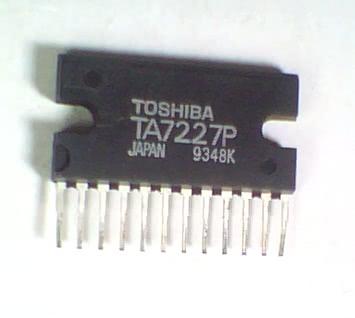 Circuito Integrado TA7227 Amplificador Audio Potencia Stereo CI 104