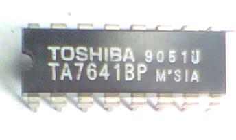 Circuito Integrado TA7641 CIC7641= KA22421  CI 110