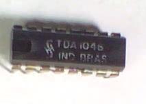 Circuito Integrado TDA1046 Receptor De Am Com Demodulador CI 119
