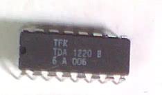 Circuito Integrado TDA1220B Sistema Receptor Am/Fm CI 121