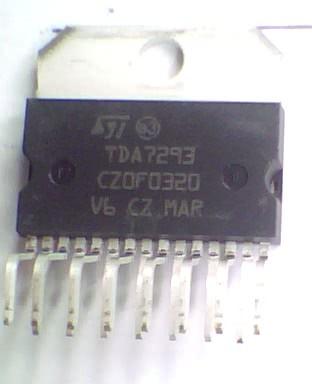 Circuito Integrado TDA7293   CI 135