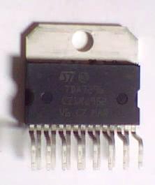 Circuito Integrado TDA7296 CI 135