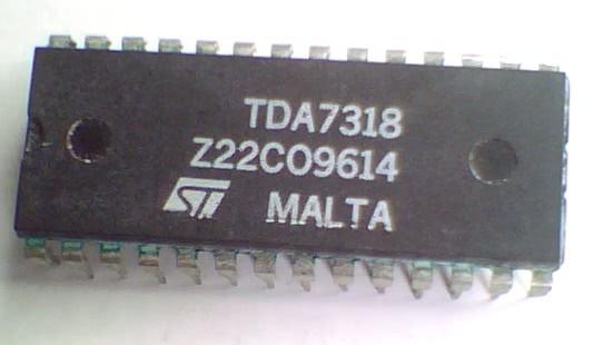 Circuito Integrado TDA7318  CI 135