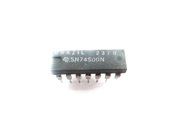 Circuito Integrado TTL  74S00 TTL  34