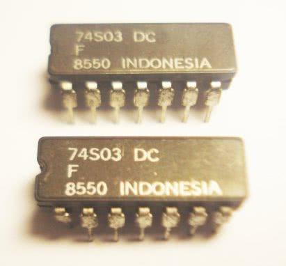 Circuito Integrado TTL 74S03 TTL 19