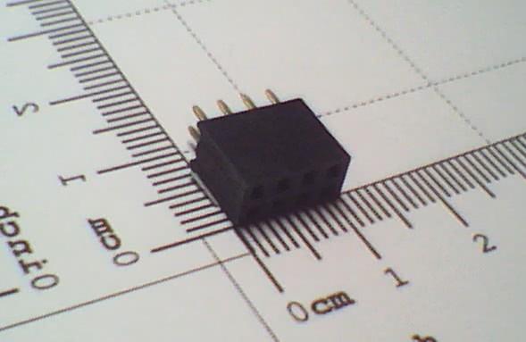 Conector 8 Vias Femea 27.067   BARRA 8