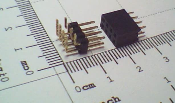 Conector 8 Vias Macho e Femea 27.066   CX8