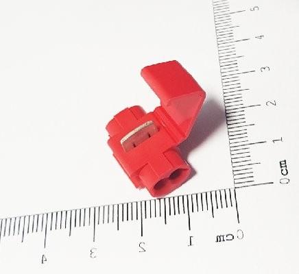 Conector Emenda Derivação Vermelho 0.75 a 1.5mm 90.191 cx35