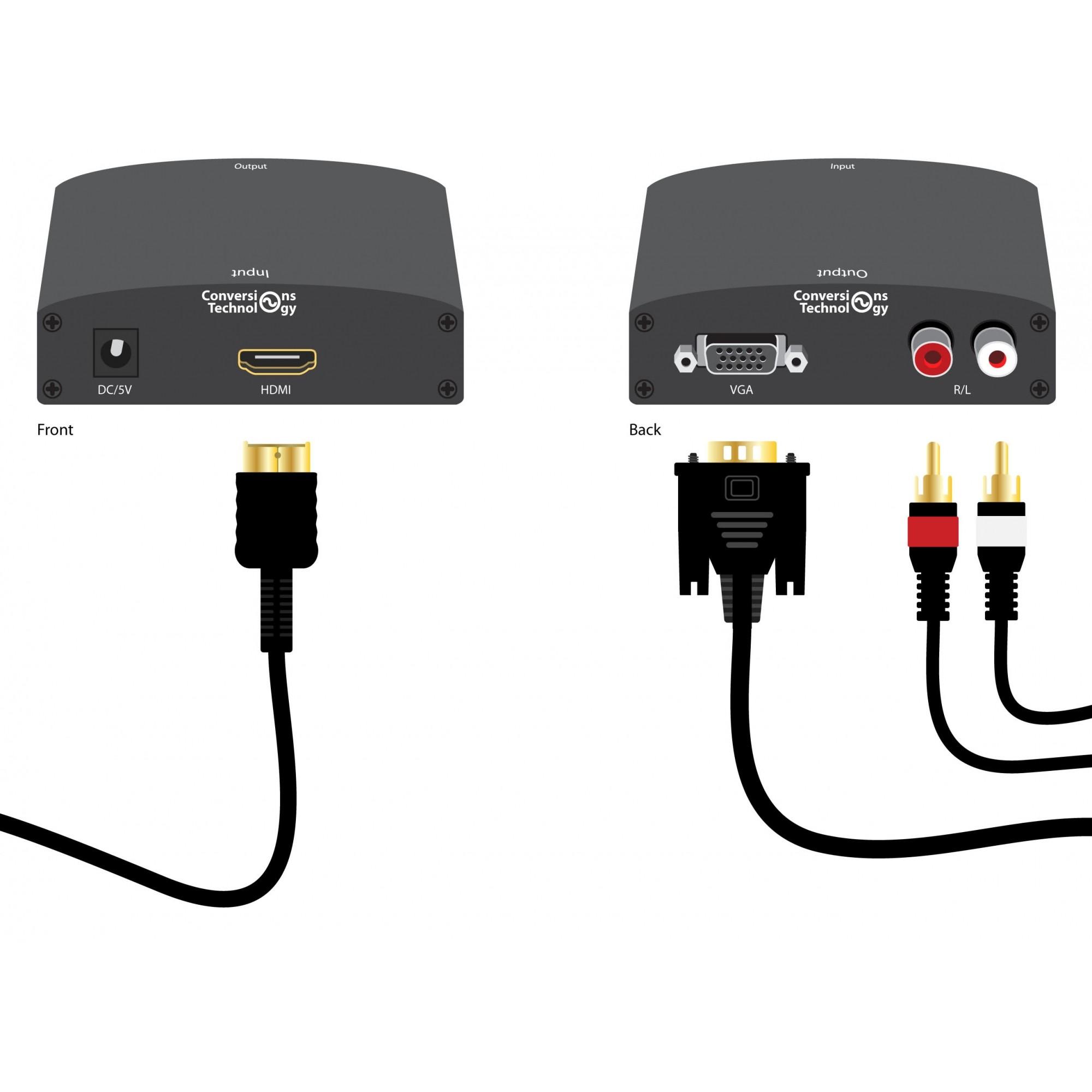 Conversor HDMI para VGA 26.126