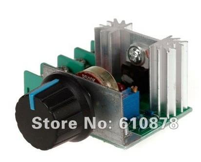 Dimmer ou Controle de Velocidade 2000W x 50V a 220V AC 70.026