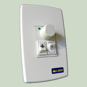 Dimmer / Controle de Velocidade Ventilador Rotativo 70.026.1