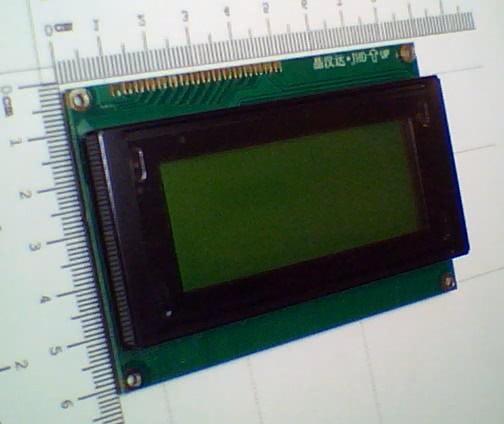 Display LCD 16 x 4 com Backligth Verde e Letra Preta DISPLAY09
